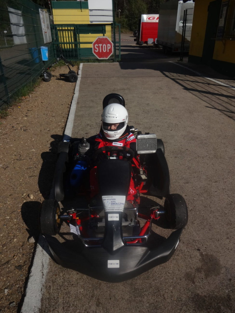 Elias Tittus - Kart-Training
